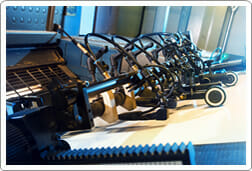 Printing compnent coating services
